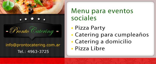 menu para eventos formales, menu para eventos empresariales, menu para eventos sociales, comidas sencillas para fiestas, comidas para fiestas de niños,